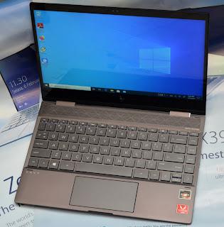 Laptop HP ENVY X360 AMD Ryzen 7 Layar Sentuh