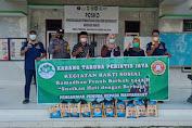 Karang Taruna Desa Perintis Jaya Berbagi Sembako Kepada Lansia Dan Anak Yatim