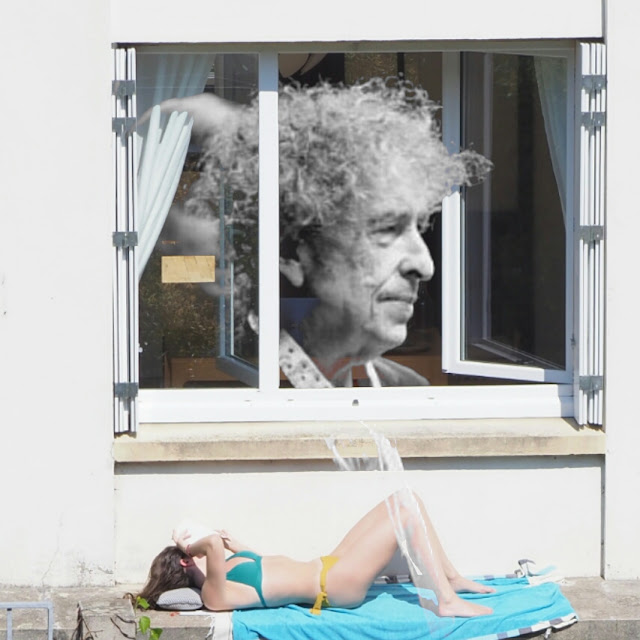 Can you please crawl out your window ? Bob Dylan Superposition