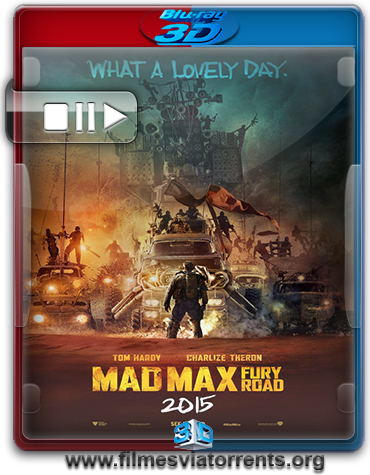 Mad Max: Estrada da Fúria Torrent – BluRay Rip 1080p 3D HSBS Legendado (2015)