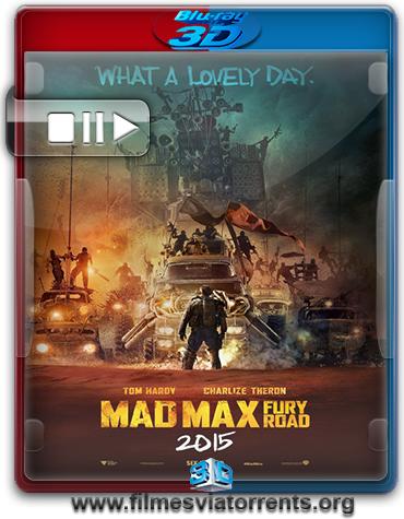 Mad Max: Estrada da Fúria Torrent – BluRay Rip 1080p 3D HSBS Legendado (2015)