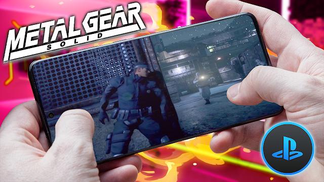 Metal Gear Solid (2 Discos) Para Teléfonos Android [ROM PS1]