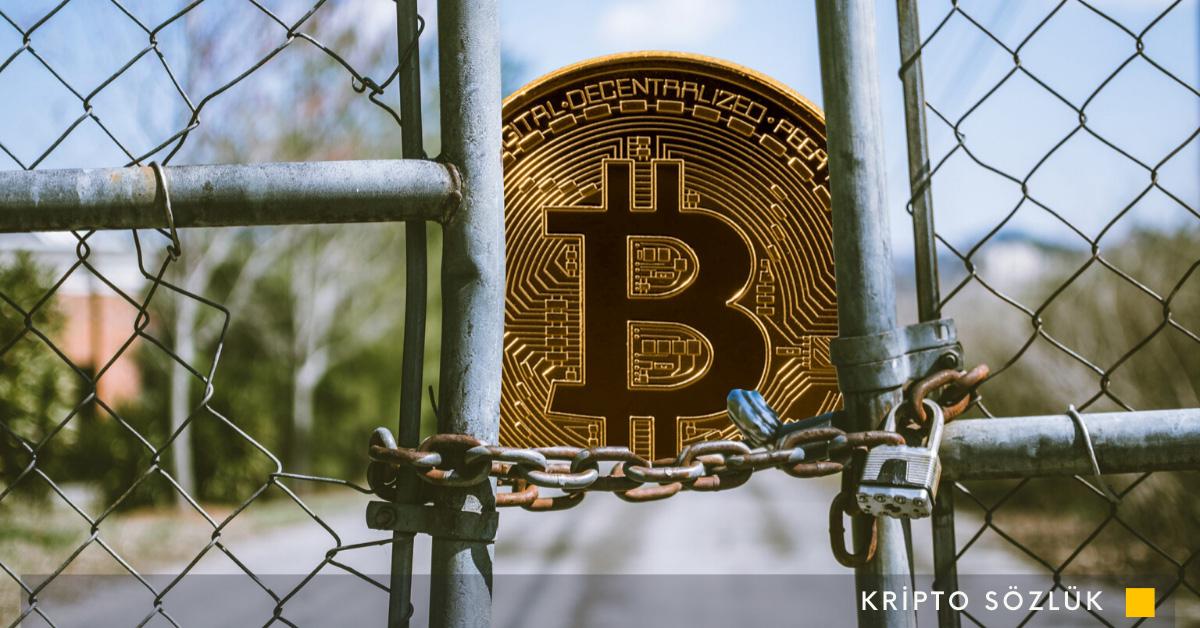 bitcoin borsası kapanıyor