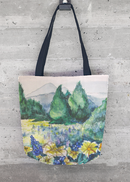 Tote Bag - spring meadow by VIDA VIDA Thqf8Z