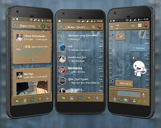 Droid Chat! v3.2.0.6 Jeans Theme New! 2017