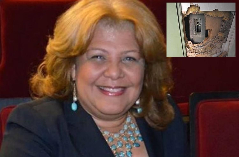 COMO E' LA COSA!!! Roban caja fuerte de la casa diputada Noris Medina.
