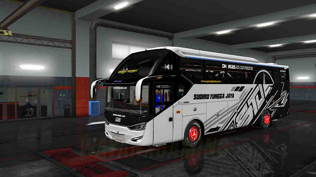 Mod Bus Laksana SR2 XHD PRIME Untuk ETS2 terbaru