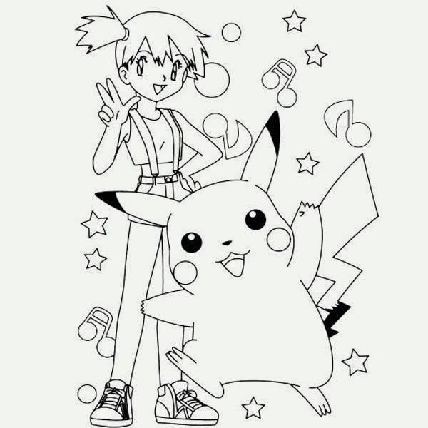 Free Online Coloring with Pikachu Coloring Pages   New ...