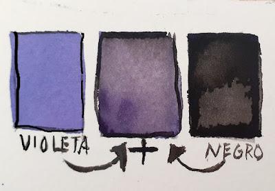 "<alt=""Oscurecimiento del Violeta Acuarela""/>"