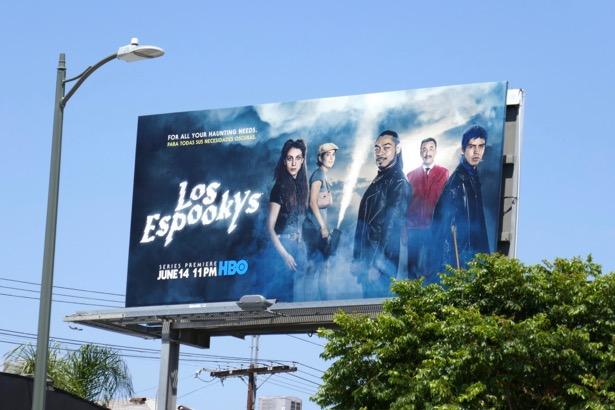 Los Espookys series premiere billboard