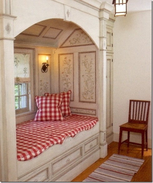 Built In Furniture For Bedrooms: Shabby In Love: Alcove Beds