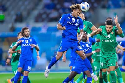 ملخص واهداف مباراة الهلال وشباب الاهلي (0-2) دوري ابطال اسيا