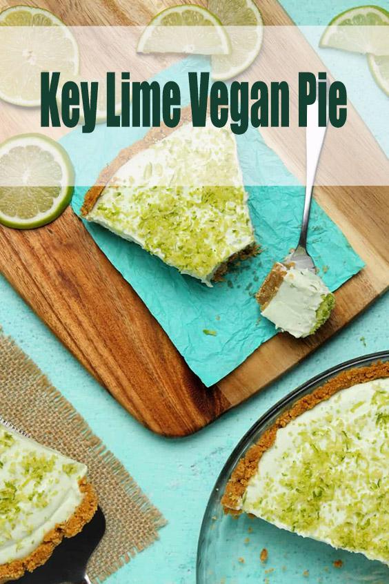 Key Lime Vegan Pie
