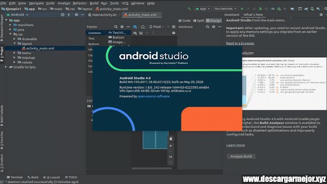 Descargar Emulador Android Studio