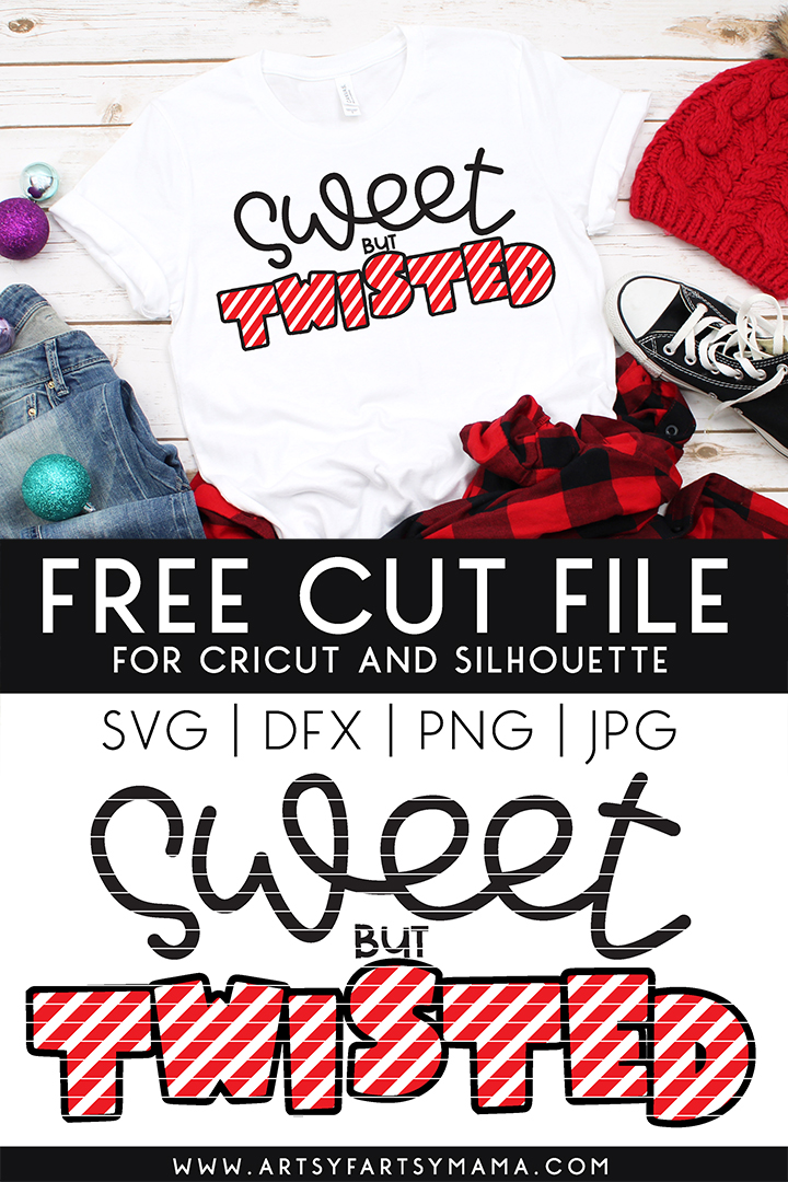 Free Sweet but Twisted Cut File