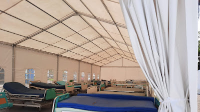 BPBD Jabar Bangun Tenda Serbaguna di RS Rujukan COVID-19, Hindari Pasien Dirawat di Lorong IGD