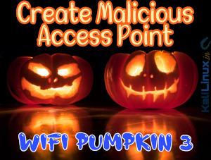 Wifi pumpkin3 install in Kali Linux