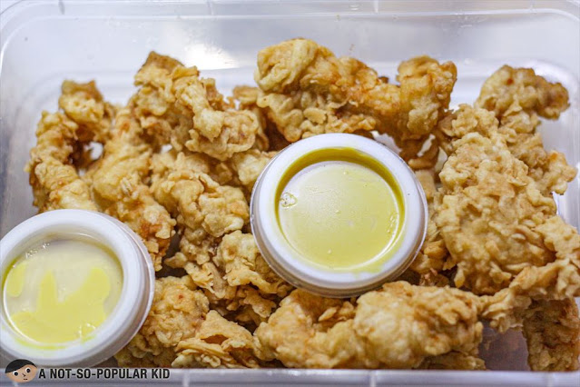 Chicken Tenders of Orange and Spices in EGI Taft
