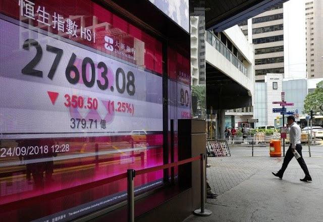 Các chỉ số tại sàn chứng khoán Hong Kong