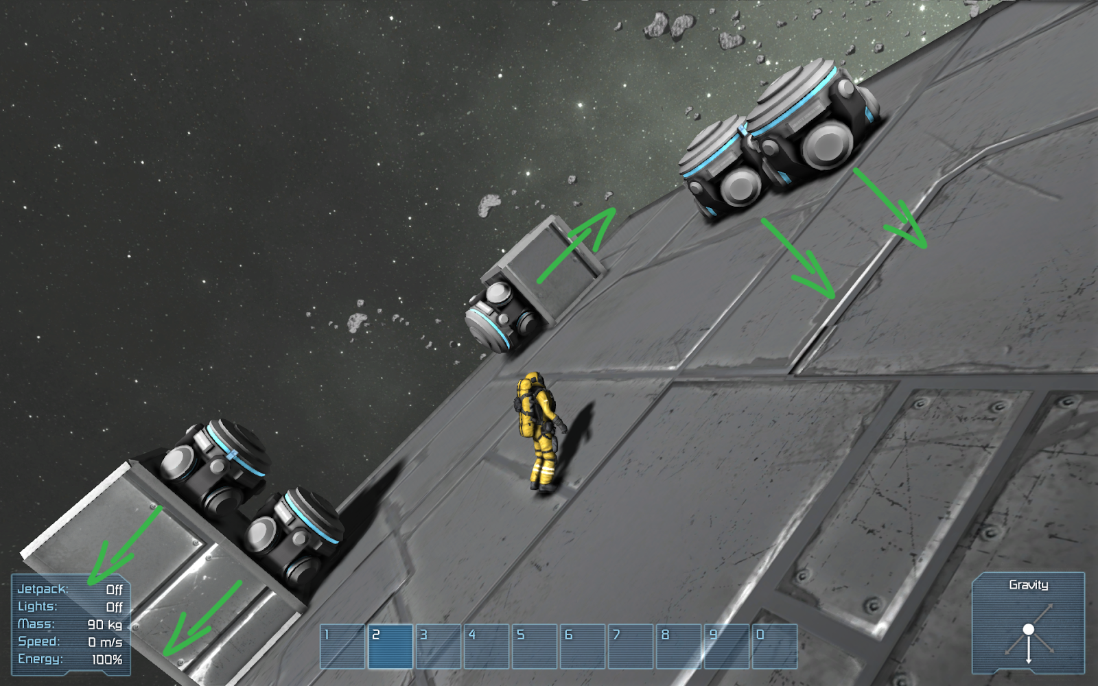 Create an Artificial Gravity Rotating Space Stations ...