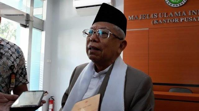 Ma'ruf Amin Mengaku Tak Dilibatkan dalam Pemilihan Menteri Kabinet