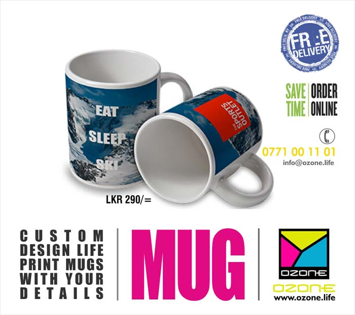 Printed with life ECO Print with life time warranty. Minimum Order Quantity 15. Comes with the box. Custom box could be arranged over 250 orders for the price of 17/=.  We can print any design according to your requirement. Fast delivery. Latest production technology in the world.  Call us on 077 100 11 01