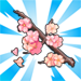 viral cherryblossomrain tree cutting 75x75 - Material CityVille: A cerejeira colossal