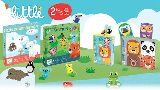meilleur top jeux de société pour enfant 2 ans et demi gamme little djeco