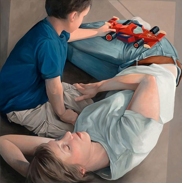 Современные американские художники. Daryl Zang 5