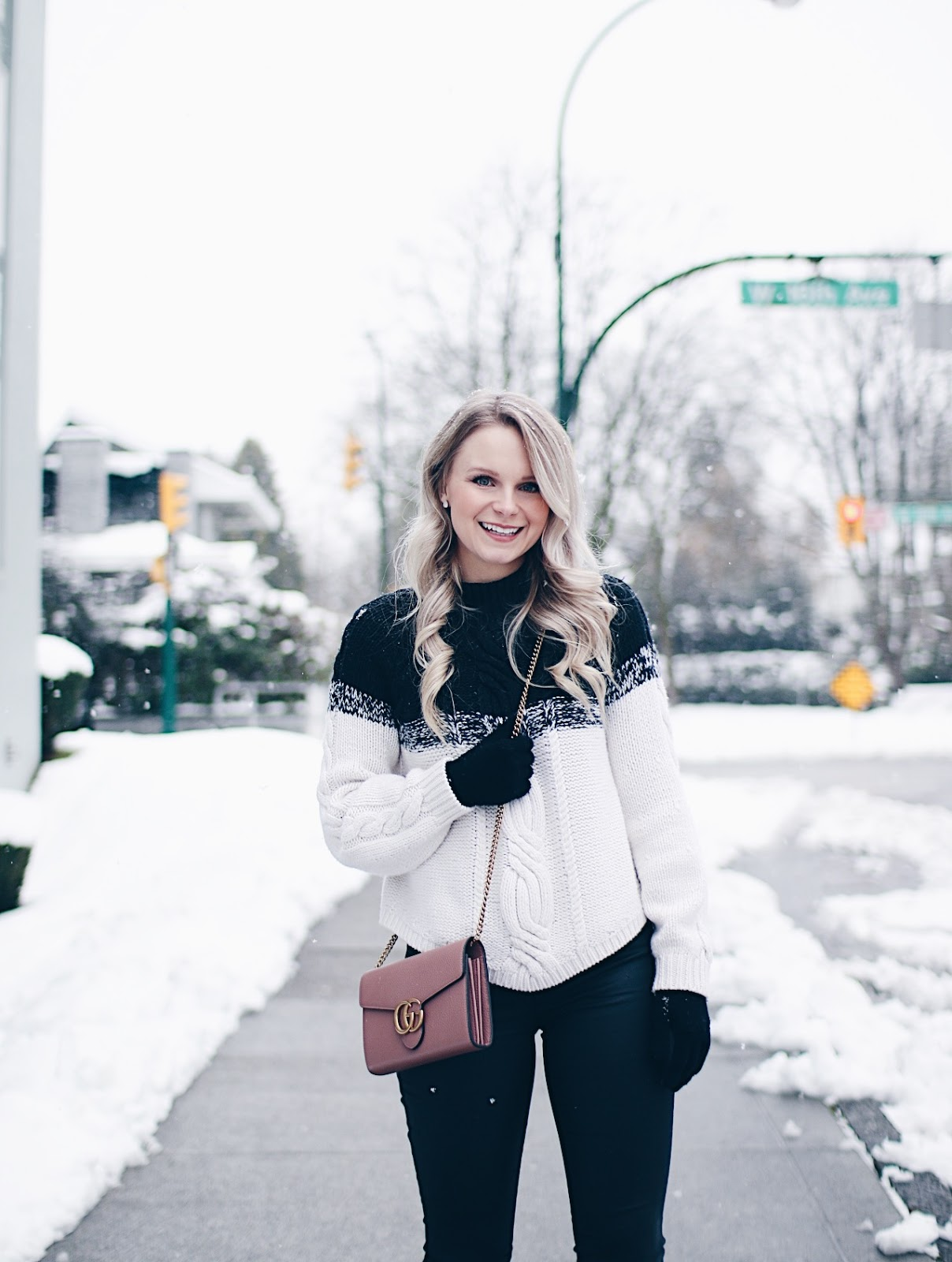 staying stylish in cold weather