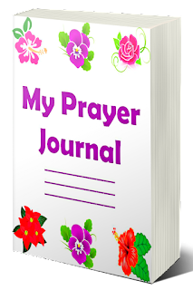 Prayer Journal Paperback which contains Bible reading plan page, Scripture insights page, Prayer preparation pages, Prayer items for the entire week, Bible verses to use when praying, Scripture writing pages, Gratitude pages, Answered prayer pages and Vision board page.