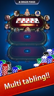 Game Texas Holdem Dinger Poker V1.0.4800 MOD Apk Terbaru