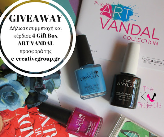 The KM Projects: CND Art Vandal Giveaway