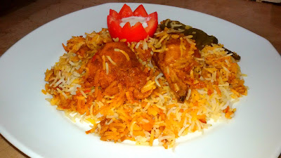 The Chicken Tikka Biryani www.thehoggerz.com