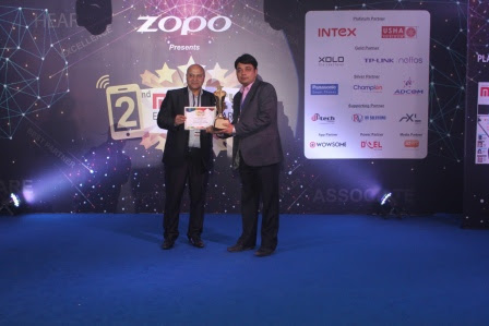 Zopo Awarded as Best Upcoming Brand of China and Best Affordable Premium Handsets at 2nd Mobility Excellence Awards Night 2015