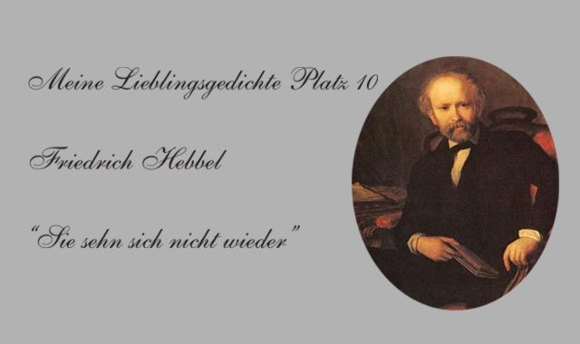 Bild Friedrich Hebbel
