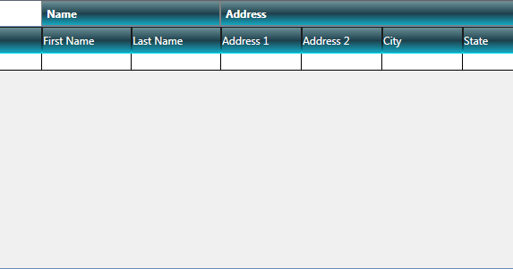 Hub of Computer Tricks and Programming: Create Nested headers in WPF