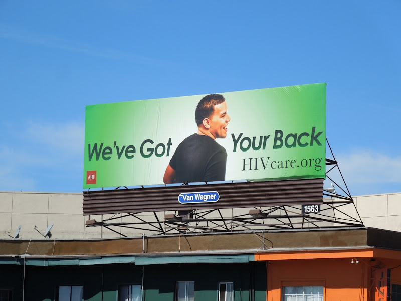 got your back HIV billboard