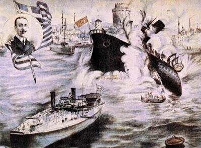 18 Οκτωβρίου του 1912 Ο Νικόλαος Βότσης και ο Τορπιλισμός του τουρκικού θωρηκτού «Φετίχ Μπουλέντ»