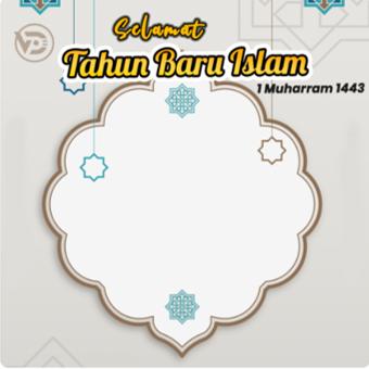 arnaim.com - Template Twibbon Tahun Baru Islam 1443 H (1)