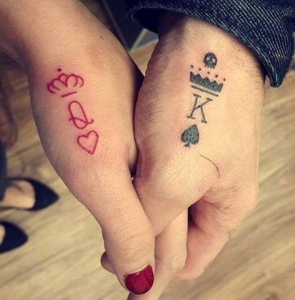 Q & K Matching Tattoo