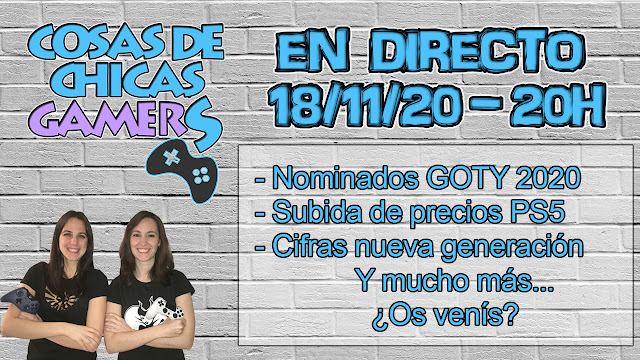 Directo chicas gamers 18/11/2020