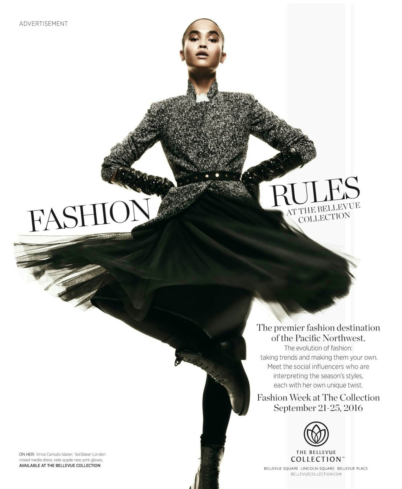 ac22be341e9c7e Sharina Gutierrez (DNA) for the Bellevue Collection in US Vogue (September  2016)