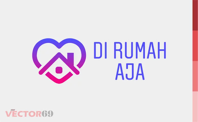 Di Rumah Aja - Download Vector File PDF (Portable Document Format)