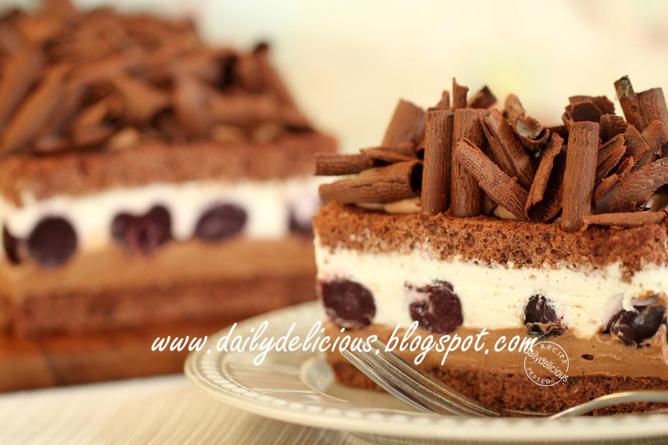 Dailydelicious Black Forest Cake La For 234 T Noire