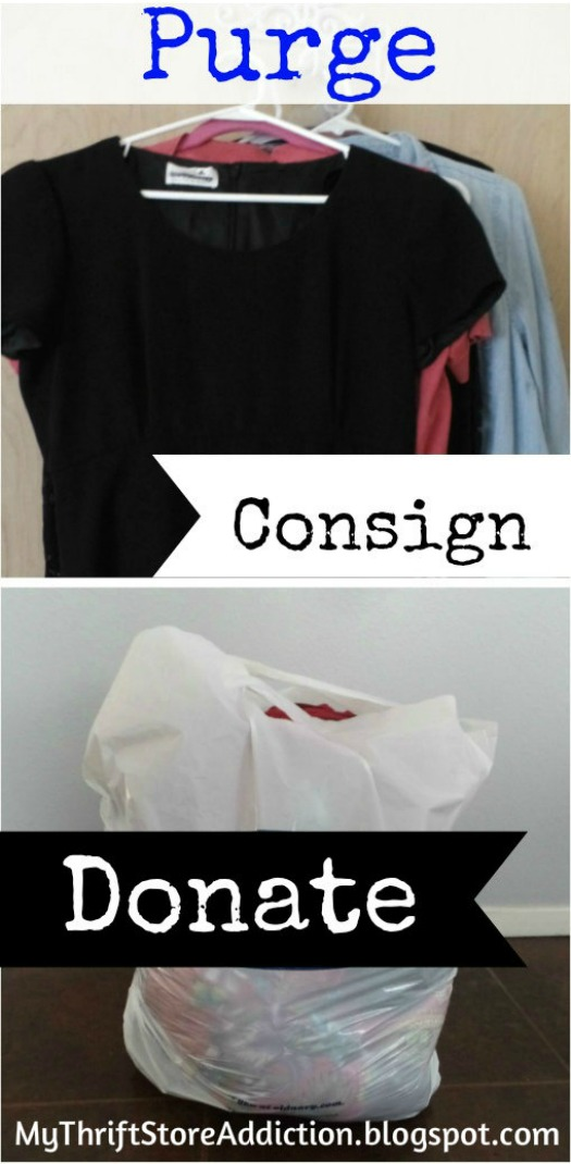 Purge, Consign or Donate