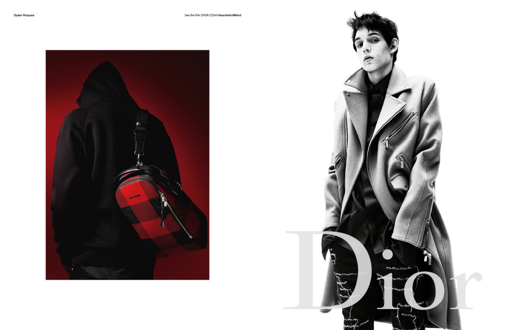 A$AP Rocky & More Front New Dior Homme Autumn 2016 Campaign