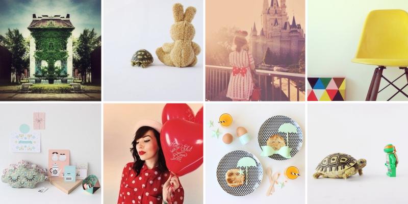 Sélection de jolis comptes sur Instagram