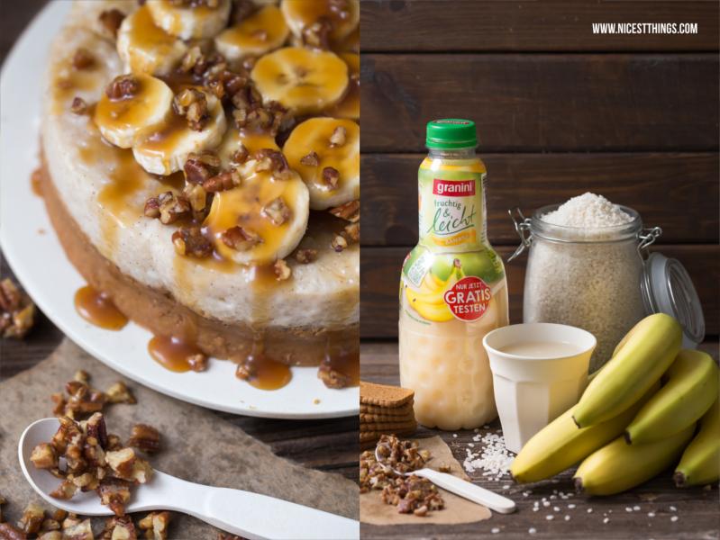 Milchreis Torte mit Granini Fruchtig und Leicht Bananensaft