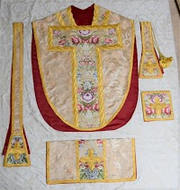 New Vestment Work from Paramentica: The St. Philip Neri Chasuble